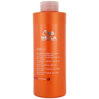 Wella Professionals Enrich balsam pentru par normal  1000 ml