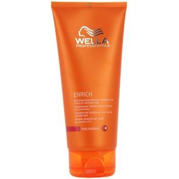 Fotografie Wella Professionals Enrich kondicionér pro normální vlasy 200 ml