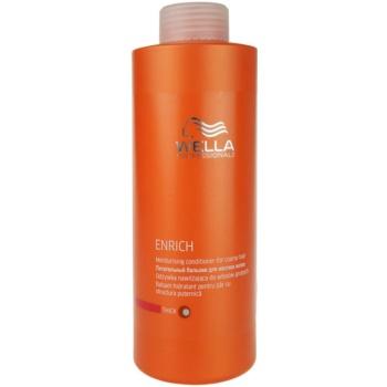Wella Professionals Enrich balsam hidratant cu fir gros, aspru și uscat  1000 ml