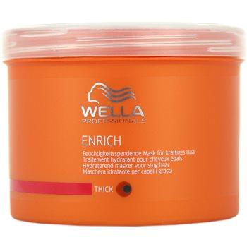 Wella Professionals Enrich masca hranitoare cu fir gros, aspru și uscat