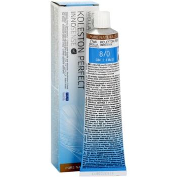 Wella Professionals Koleston Perfect Innosense Pure Naturals culoare par culoare 8/0  60 ml