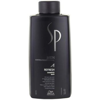 Wella Professionals SP Men osvěžující šampon na vlasy i tělo 1000 ml