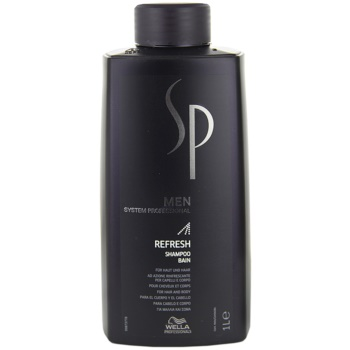 Wella Professionals SP Men sampon revigorant pentru par si corp  1000 ml