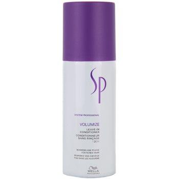 Fotografie Wella Professionals SP Volumize kondicionér pro jemné a zplihlé vlasy 150 ml