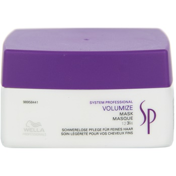 Wella Professionals SP Volumize masca pentru par fin  200 ml