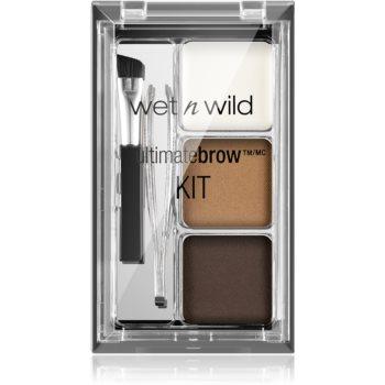 Wet n Wild Ultimate Brow set pentru sprancene perfecte imagine produs