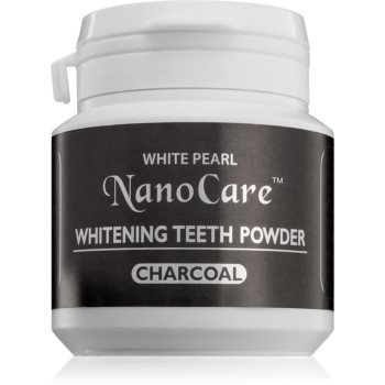 White Pearl NanoCare pudrã cu cãrbune activ, pentru albirea din?ilor imagine produs