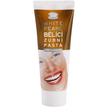 White Pearl Whitening Zahnweisser-Zahnpasta für Raucher 75 ml