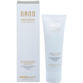 Whitewash Nano мултиактивна избелваща паста за обновяване на зъбния емайл 1