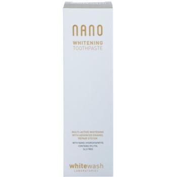 Whitewash Nano мултиактивна избелваща паста за обновяване на зъбния емайл 2