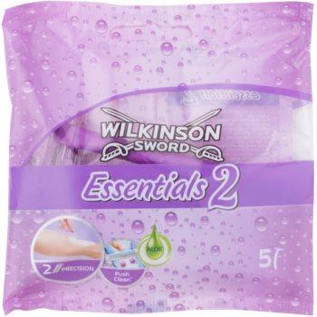 Wilkinson Sword Essentials 2 aparat de ras de unica folosinta 5 pc pentru femei imagine produs
