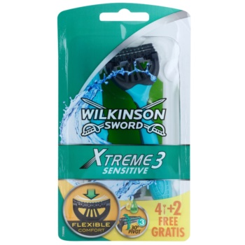 Wilkinson Sword Xtreme 3 Sensitive aparat de ras de unicã folosin?ã imagine produs