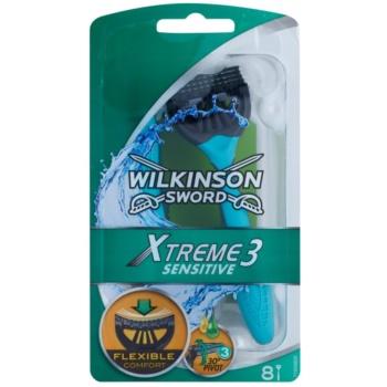 Wilkinson Sword Xtreme 3 Sensitive aparat de ras de unică folosință  8 buc