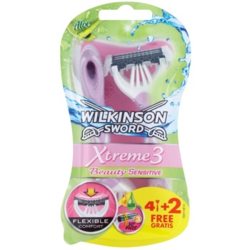 Wilkinson Sword Xtreme 3 Beauty Sensitive aparat de ras de unică folosință  6 buc