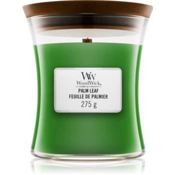 Woodwick Palm Leaf lumânare parfumatã cu fitil din lemn poza