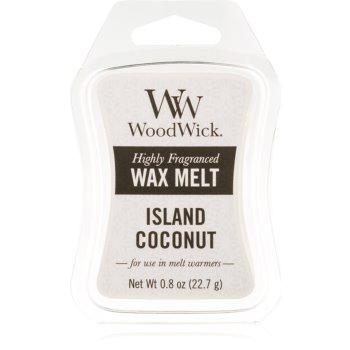 Woodwick Island Coconut ceară pentru aromatizator