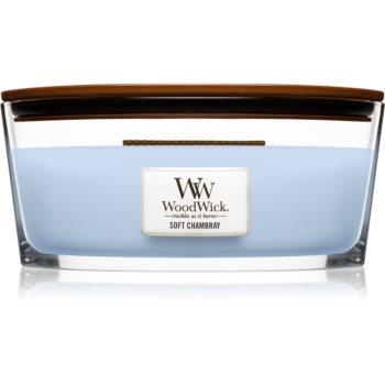 Woodwick Soft Chambray lumanari parfumate  453,6 g Hearthwick