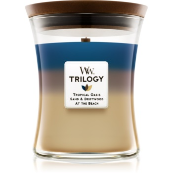 Woodwick Trilogy Nautical Escape lumanari parfumate  275 g mediu
