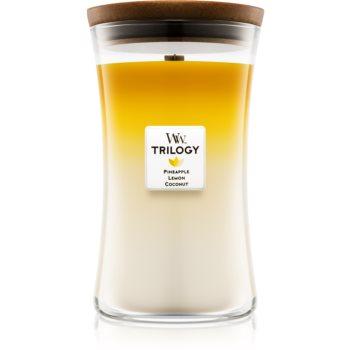 Woodwick Trilogy Fruits of Summer lumanari parfumate 609,5 g mare