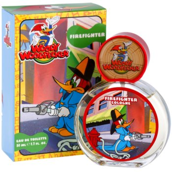 Woody Woodpecker Firefighter Eau de Toilette For Kids 1