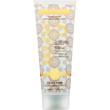 Xen-Tan Ultra Dark lotiune autobronzanta pentru corp si fata cu ulei de argan  236 ml