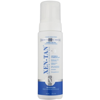 Xen-Tan Clean Collection spuma autobronzanta corp si fata culoare Medium/Dark  236 ml