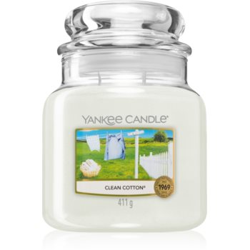 Yankee Candle Clean Cotton lumânare parfumată