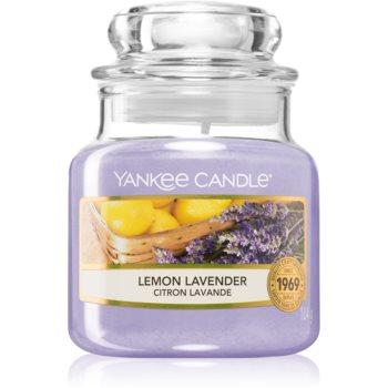 Yankee Candle Lemon Lavender lumânare parfumată