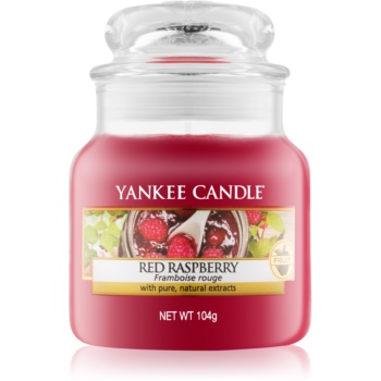 Yankee Candle Red Raspberry lumânare parfumată Clasic mini