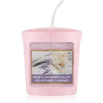 Yankee Candle Honey Lavender Gelato votivní svíčka 49 g