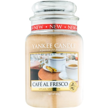 Yankee Candle Café Al Fresco lumanari parfumate 623 g Clasic mare