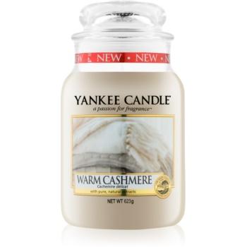 Yankee Candle Warm Cashmere lumânare parfumatã Clasic mare imagine produs