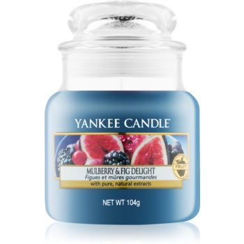 Yankee Candle Mulberry & Fig lumânare parfumată Clasic mini