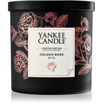 Yankee Candle Golden Rose lumanari parfumate 198 g mic
