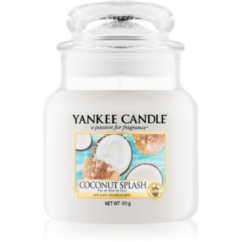Yankee Candle Coconut Splash lumânare parfumată Clasic mediu
