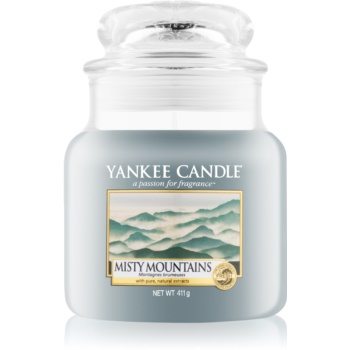 Yankee Candle Misty Mountains lumanari parfumate 411 g Clasic mediu