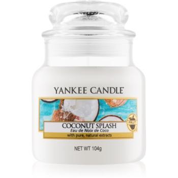 Yankee Candle Coconut Splash lumânare parfumată Clasic mini