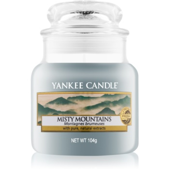 Yankee Candle Misty Mountains lumanari parfumate 104 g Clasic mini