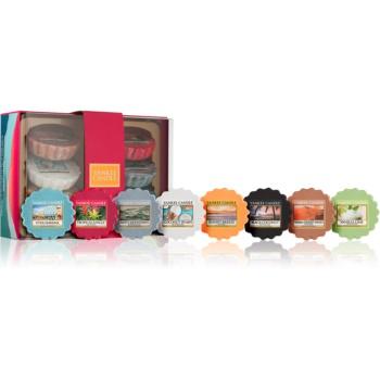 Yankee Candle Gift Set set cadou I.  ceară aromatică pentru lampa de aromaterapie 8 x 22 g