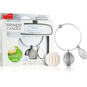 Yankee Candle Clean Cotton parfum pentru masina I. (Linear)