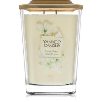 Yankee Candle Elevation Sheer Linen lumanari parfumate 552 g mare
