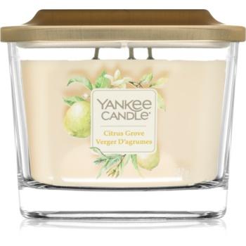 Yankee Candle Elevation Citrus Grove lumânare parfumată mediu