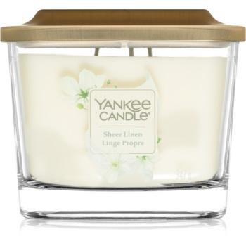 Yankee Candle Elevation Sheer Linen vonná svíčka střední 347 g