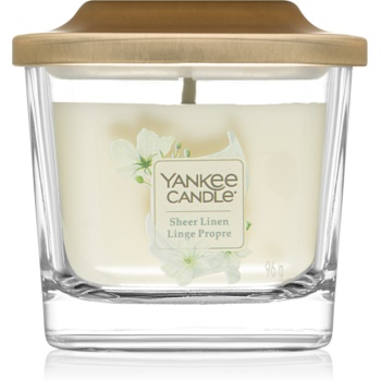Yankee Candle Elevation Sheer Linen lumanari parfumate 96 g mic