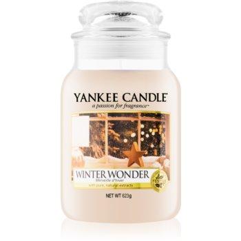 Yankee Candle Winter Wonder vonná svíčka Classic velká 623 g