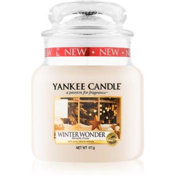 Yankee Candle Winter Wonder vonná svíčka Classic střední 411 g