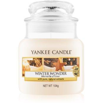 Yankee Candle Winter Wonder vonná svíčka Classic malá 104 g