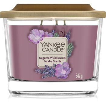 Yankee Candle Elevation Sugared Wildflowers lumânare parfumată