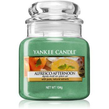 Yankee Candle Alfresco Afternoon lumânare parfumată Clasic mini