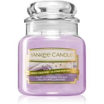 Yankee Candle Honey Lavender Gelato vonná svíčka Classic malá 104 g